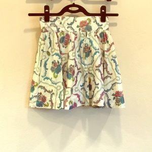 Shimmer Circle Skirt